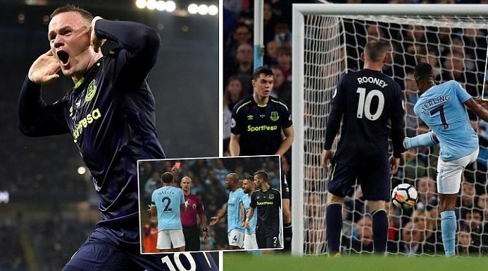 """Kết quả Man City vs Everton: Rooney tỏa sáng, 90 phút """"thót tim"""""""
