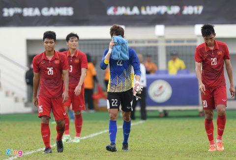 """Truyền thông châu Á """"sốc nặng"""" khi U22 Việt Nam bị loại ngay từ vòng bảng SEA Games"""