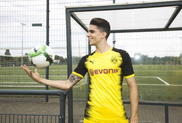 Dortmund ra mắt áo đấu mới cực chất dành riêng cho Champions League