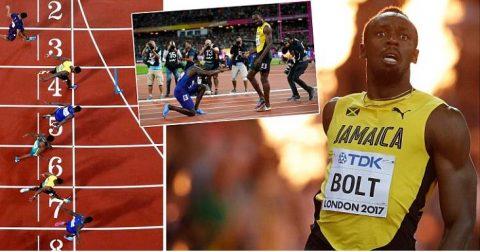 """Chấn động thế giới: """"Tia chớp đen"""" Usain Bolt thua sốc, mất ngôi """"vua chạy 100m"""""""
