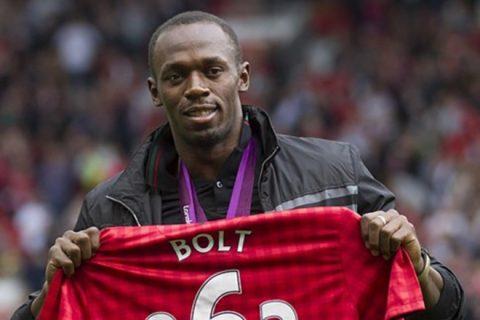 Kịp bình phục chấn thương, Usain Bolt sẽ có lần đầu tiên khoác áo Man Utd