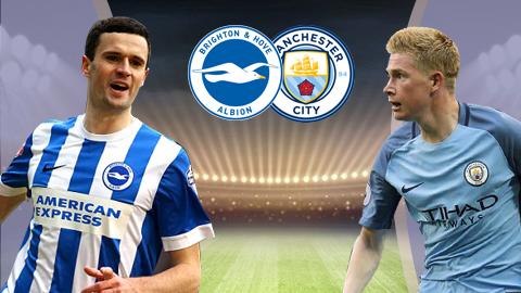 Brighton & Hove Albion vs Man City, 23h30 ngày 12/8: Lời khẳng định sức mạnh từ Pep