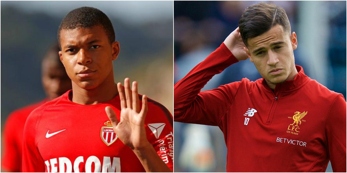 TIN CHUYỂN NHƯỢNG 19/08: Monaco hét giá Mbappe xấp xỉ Neymar; Liverpool từ chối 118 triệu bảng cho Coutinho