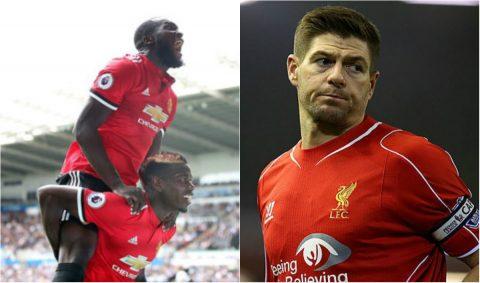 Sau tất cả, Gerrard cũng phải đành cay đắng thừa nhận sức mạnh vượt trội của MU