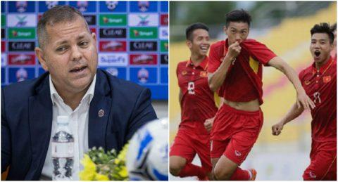 """Thua đội yếu nhất bảng, HLV Campuchia vẫn ngạo nghễ khẳng định sẽ """"làm gỏi"""" U22 Việt Nam"""