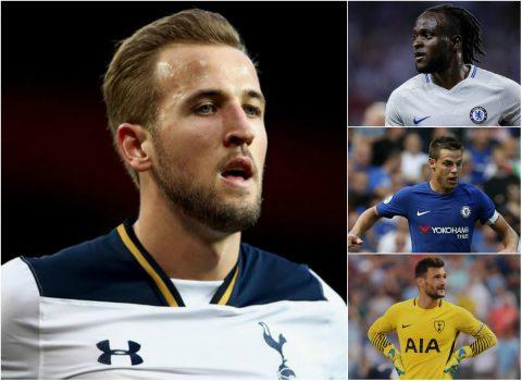Đội hình kết hợp ở đại chiến Chelsea – Tottenham: Nhạt nhòa sắc xanh