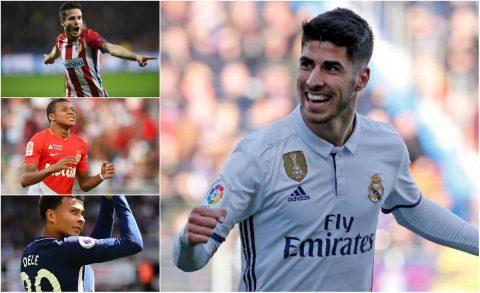 12 sao trẻ đáng chú ý nhất tại vòng bảng Champions League 2017/18