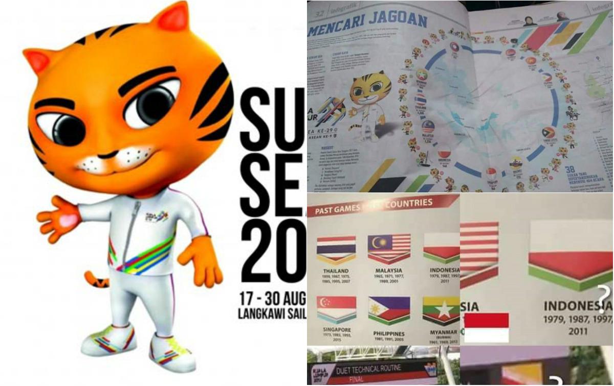 """Chủ nhà Malaysia gây """"phẫn nộ"""" vì nhầm lẫn quốc kỳ nhiều quốc gia tại SEA Games"""