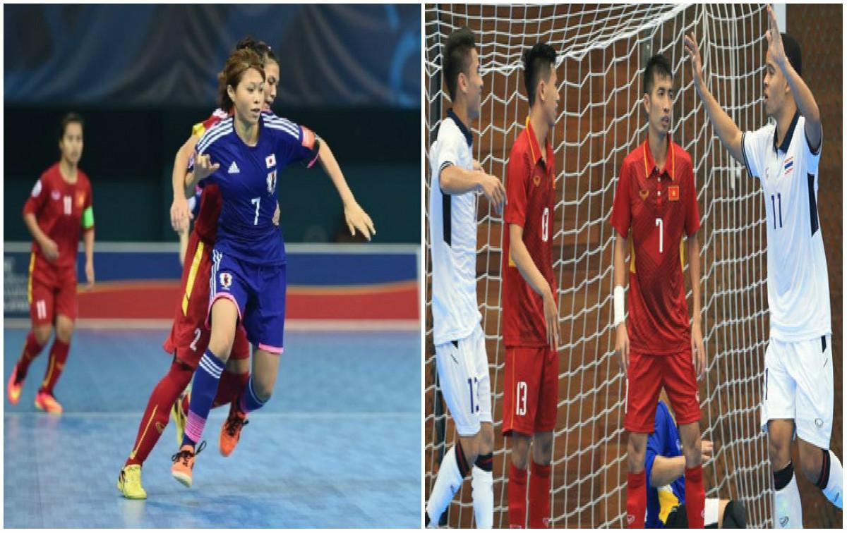 BẢN TIN SEA GAMES ngày 18/8: Ngày thất bại của Futsal Việt Nam