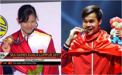 BẢN TIN SEA Games 29: Việt Nam có HCV thứ 8, bỏ xa Thái Lan