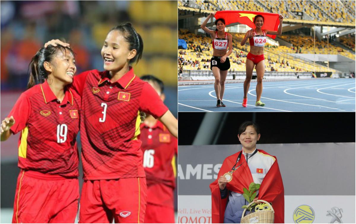 """Những hình ảnh đẹp nhất của các """"cô gái vàng"""" Việt Nam tại SEA Games 29"""
