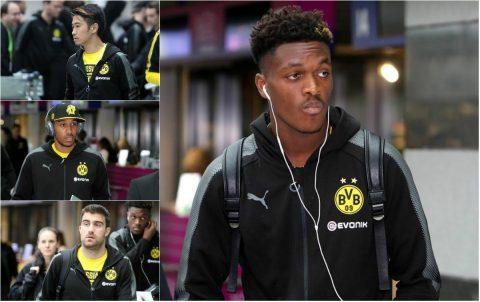 """CHÙM ẢNH: Tội đồ Dembele khiến đồng đội tại Dortmund """"mặt như đưa đám"""""""