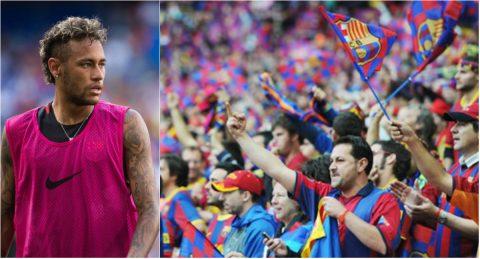 """Các Cules chưa hết hận, chửi rủa Neymar thậm tệ ở trận giao hữu """"ý nghĩa"""" của Barca"""