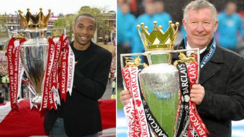 Huyền thoại Arsenal đề nghị lấy tên Sir Alex đặt cho cup vô địch Ngoại hạng Anh