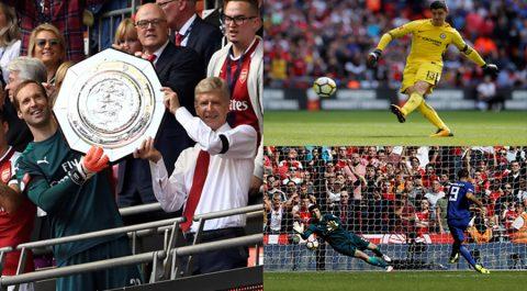 CHÙM ẢNH: Courtois và Morata đá Penalty thảm họa, Chelsea tuột Siêu cup vào tay Arsenal