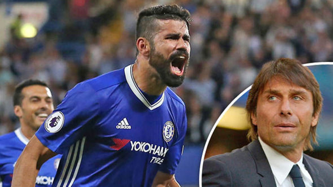 Phá vỡ sự im lặng, Diego Costa công khai chỉ trích Conte thậm tệ