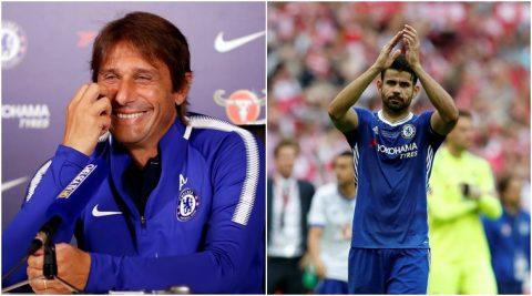 """Antonio Conte cười lớn khi được hỏi về """"kẻ nổi loạn"""", khẳng định Costa chỉ còn là dĩ vãng"""