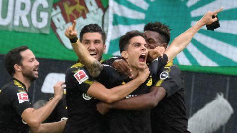Hạ Wolfsburg 3 bàn không gỡ, Dortmund vươn lên ngôi đầu Bundesliga