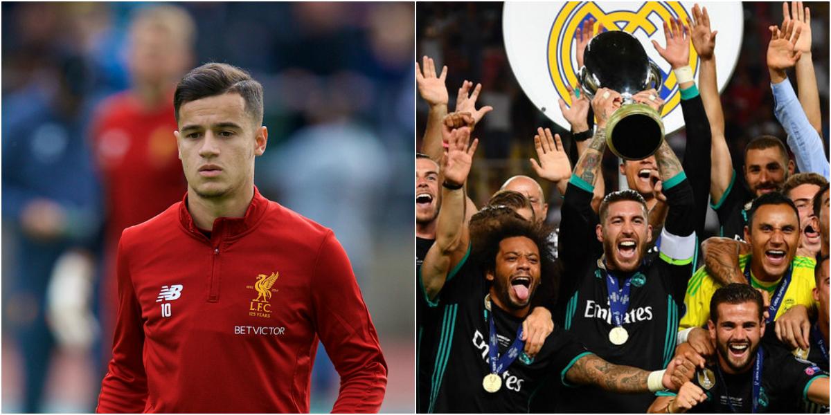"""Điểm tin tối 09/08: Huyền thoại Liverpool lo ngại nếu Coutinho đòi đi; Real vẫn chưa phải """"Vua Siêu cúp châu Âu"""""""