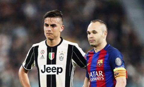 """NÓNG: Barcelona sẵn sàng """"tế thần"""" Iniesta vì Dybala"""