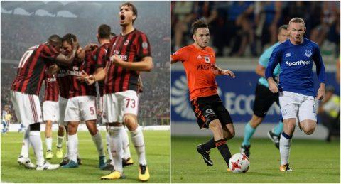 Kết quả vòng sơ loại thứ ba Europa League: Số phận Milan và Everton được định đoạt