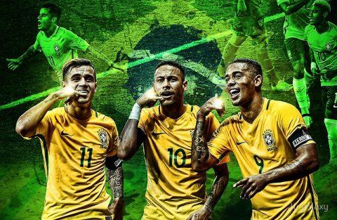 BXH FIFA tháng 8/2017: Brazil lên đỉnh thế giới, Việt Nam tiếp tục tụt hạng