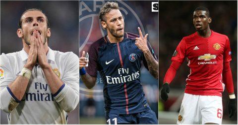 Neymar và TOP 10 bản hợp đồng đắt giá nhất lịch sử bóng đá Thế giới