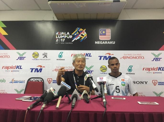 Thua không cửa bật, HLV Đông Timor tuyên bố U22 VN mạnh nhất SEA Games 29