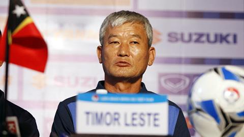 """""""Guus Hiddink Đông Timor"""" quyết tâm quật ngã U22 Việt Nam ngay trận ra quân"""