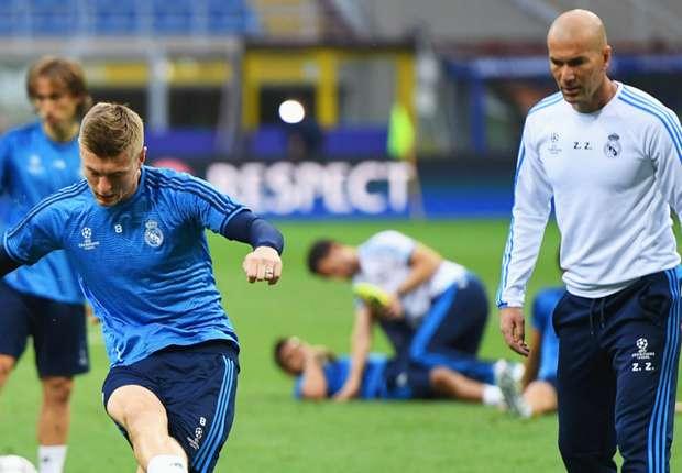 Phong cách của Zidane khiến Kross muốn nhận làm đồng hương