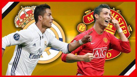 Ronaldo, Beckham và những ngôi sao nổi tiếng từng khoác áo cả Man Utd lẫn Real Madrid