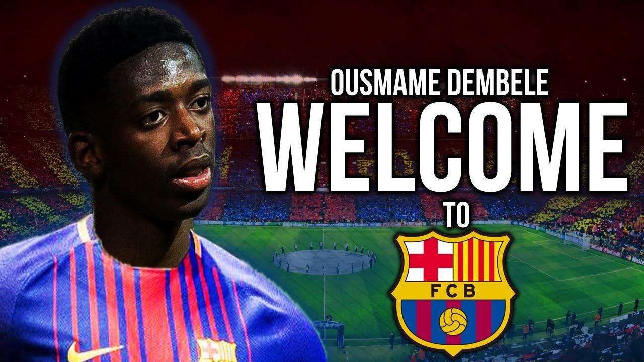 Chưa chính thức ra mắt, Dembele đã được kế thừa số áo của Neymar tại Barca