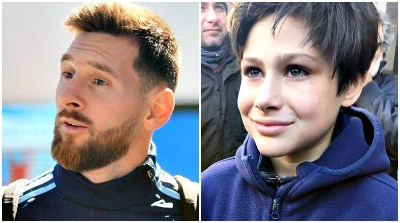 Lionel Messi đốn tim fan với hành động cực đẹp trước trận đại chiến với Uruguay