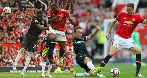 Bom tấn Lukaku chói sáng như một vị thần, M.U nghiền nát West Ham trận mở màn NHA