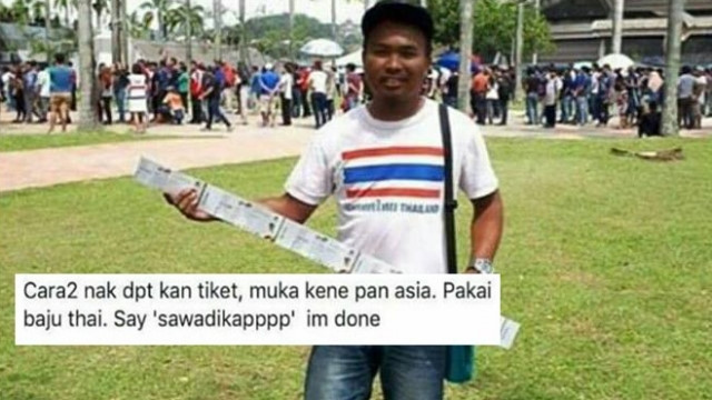 Đóng giả người Thái, CĐV Malaysia dễ dàng mua vé chung kết bóng đá nam