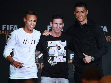 TOP 10 ứng cử viên cho danh hiệu Chiếc giày vàng Châu Âu 2017/2018: Chờ Neymar soán ngôi Ronaldo và Messi