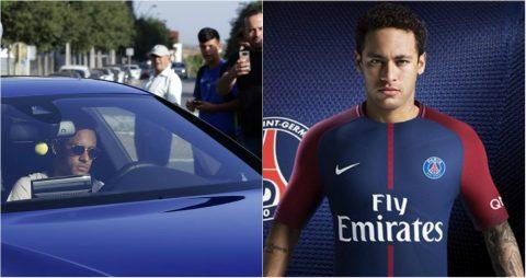 NÓNG: Được cho nghỉ tập, Neymar đã chính thức chia tay đồng đội để sang PSG