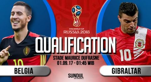 Bỉ vs Gibraltar, 01h45 ngày 01/9: Quỷ đỏ giương nanh