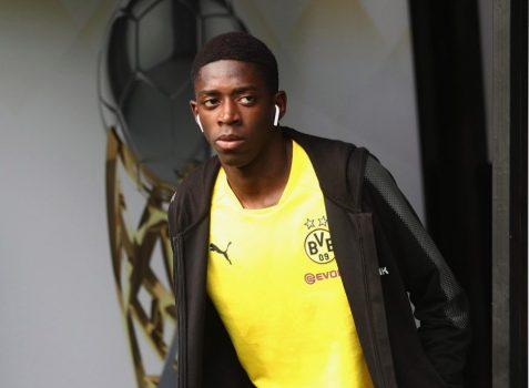 Một mực đòi đến Barca, Dembele bị cô lập tại Dortmund