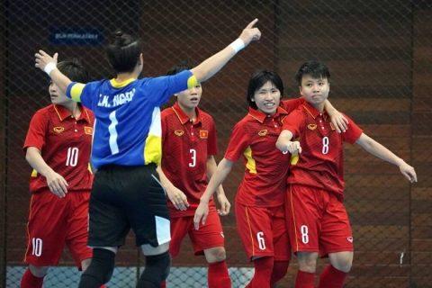 Hủy diệt Myanmar, ĐT Futsal nữ Việt Nam thắp lên hy vọng có huy chương