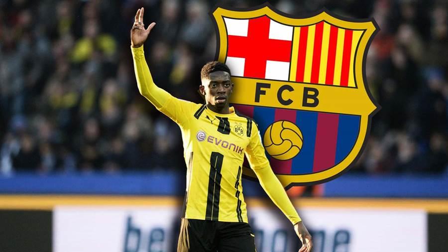 """NÓNG: Ousmane Dembele chỉ còn cách Barcelona """"vài giờ đồng hồ"""""""