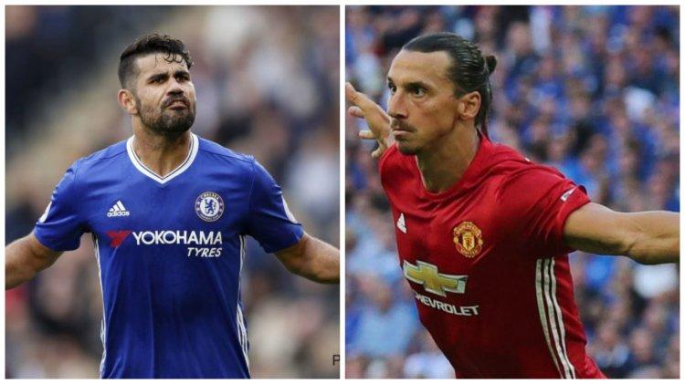 Điểm tin sáng 21/8: Ibrahimovic tái ký với M.U; Diego Costa từ chối tới Trung Quốc