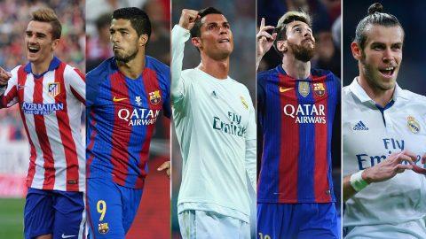 """TOP 15 ngôi sao có phí giải phóng hợp đồng cao nhất: Messi """"hít khói"""" Ronaldo"""
