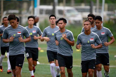 U22 Singapore đặt mục tiêu vào bán kết SEA Games 29