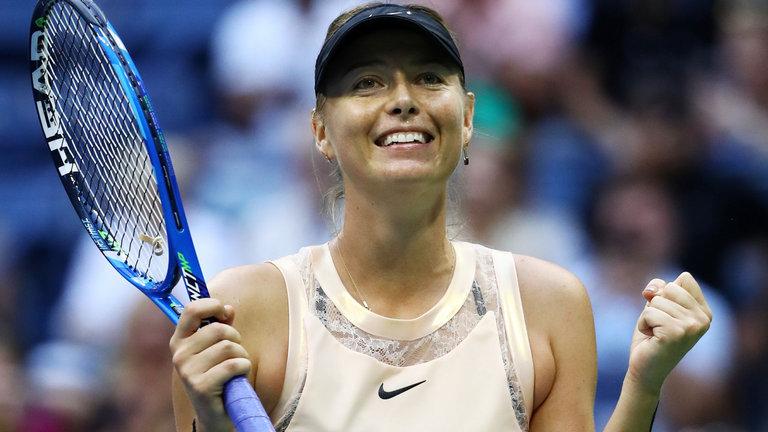 """""""Búp bê Nga"""" Sharapova thẳng tiến vào vòng ba US Open"""
