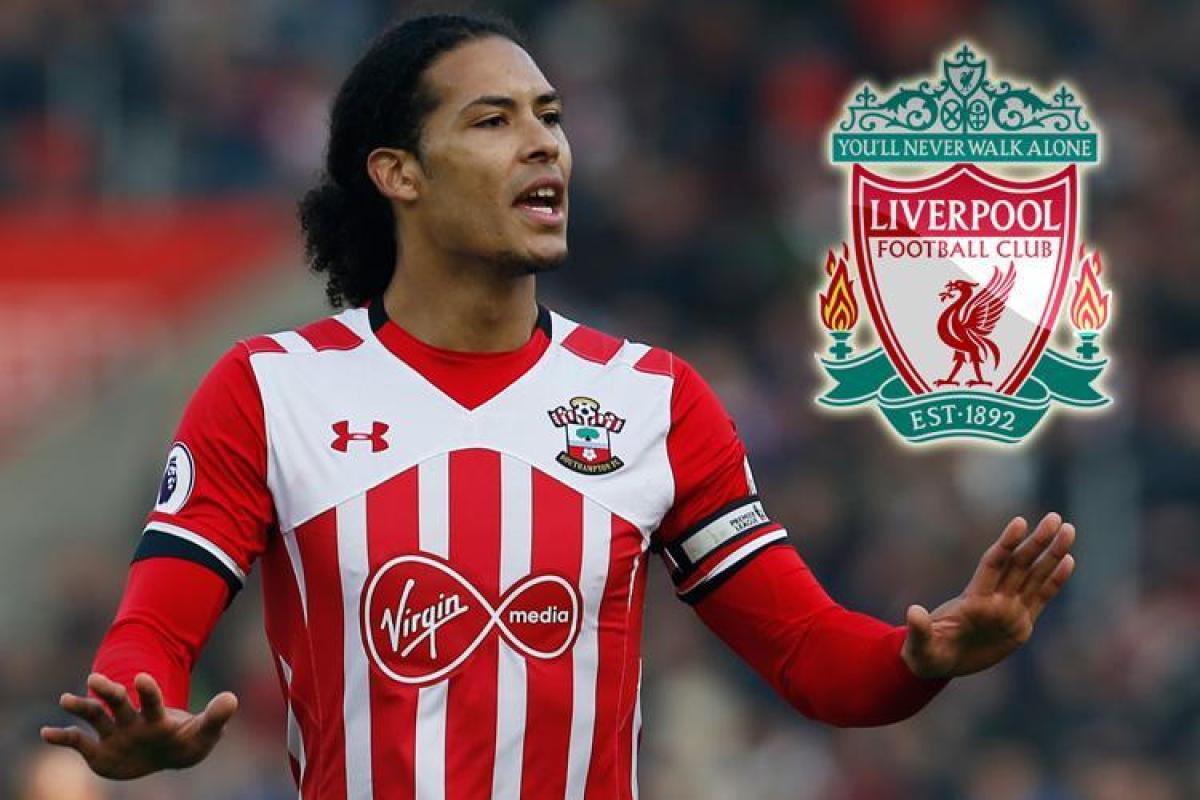 Liverpool gặp đối thủ nặng ký trong việc chiêu mộ Van Dijk