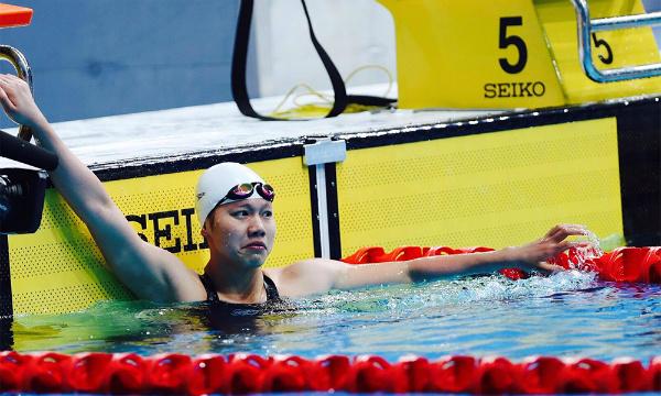 Ánh Viên đoạt HCV, phá kỷ lục SEA Games nội dung 100m ngửa