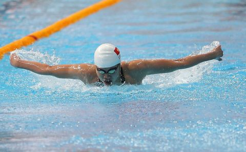 Một mình một làn, Ánh Viên xuất sắc giành HCV thứ 2 và phá kỉ lục SEA Games 200m bơi ngửa