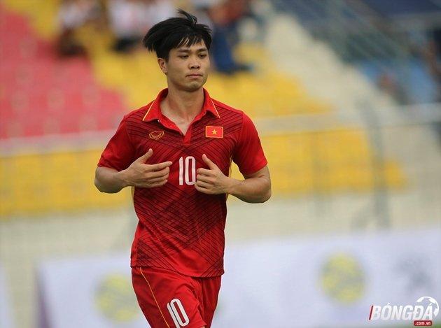 Công Phượng bị đau nhẹ, có thể không ra sân ở trận gặp U22 Campuchia