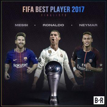Ronaldo lập kỷ lục chưa từng có sau khi vào danh sách đề cử The Best